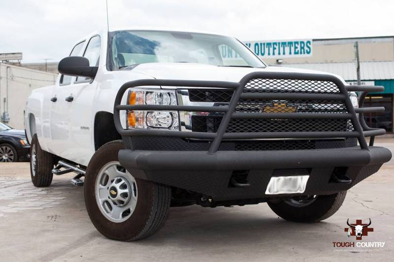 Tough Country Custom Deluxe Front Bumper, GMC (2011-14) 2500 & 3500 Sierra