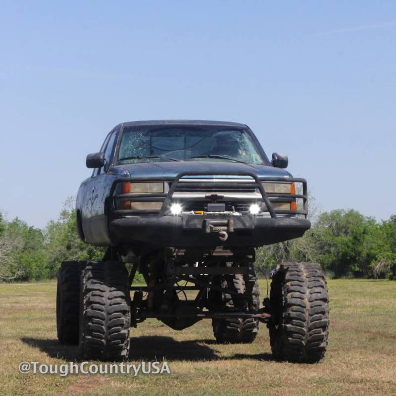 Tough Country Custom Deluxe Front Bumper Chevy 2001 02