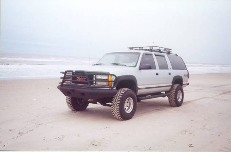 Tough Country Custom Deluxe Front Bumper, Chevy (2001-02 ...