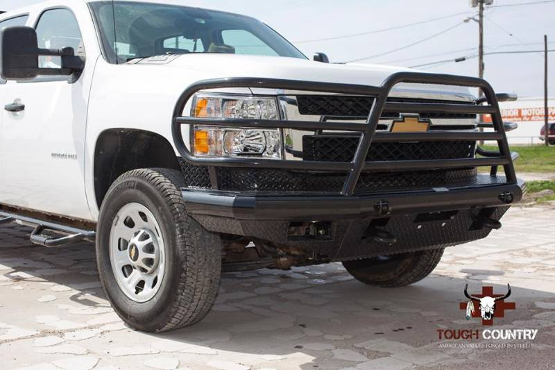 Tough Country Custom Deluxe Front Bumper, Chevy (2011-14 ...