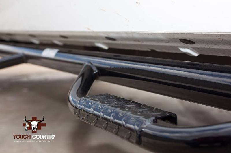 Gmc Sierra Running Boards >> Tough Country Deluxe Cab Length 4 Step Bars, Chevy/GMC (1999-13) 1500, 2500 & 3500 4 Door ...