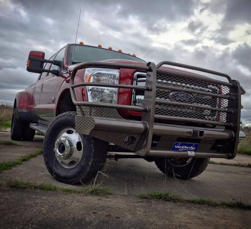 Tough Country Custom Traditional Front Bumper, Ford (1999-04