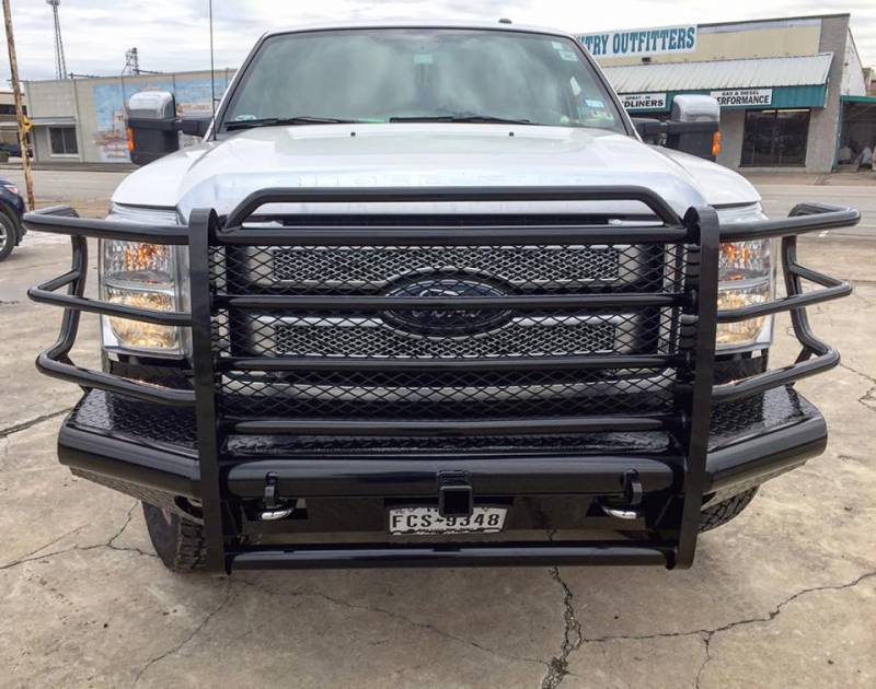 F-350 SD CPP Front Steel Bumper for 2008-2010 Ford F-250 SD
