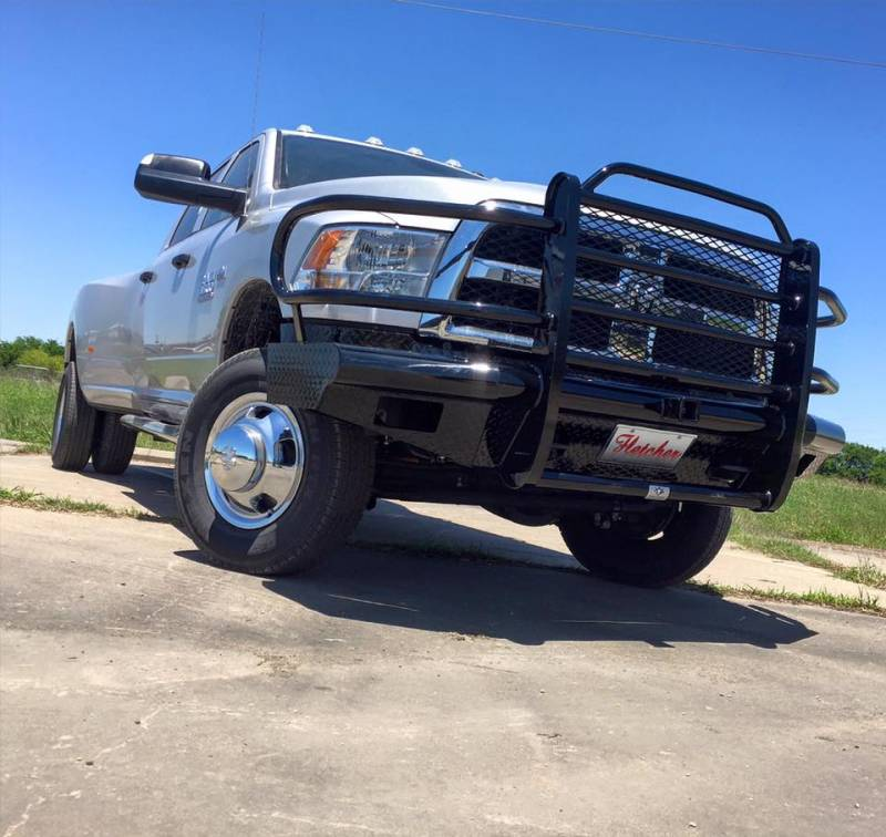 Tough Country Custom Traditional Front Bumper, Dodge (2006-09) 1500 Mega Cab, 2500, & 3500 Ram
