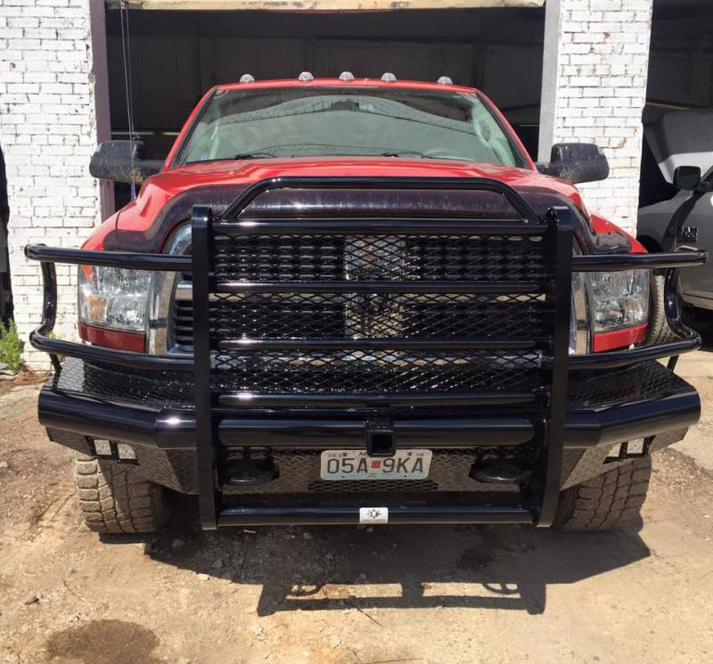 Tough Country Custom Traditional Front Bumper, Dodge (1996
