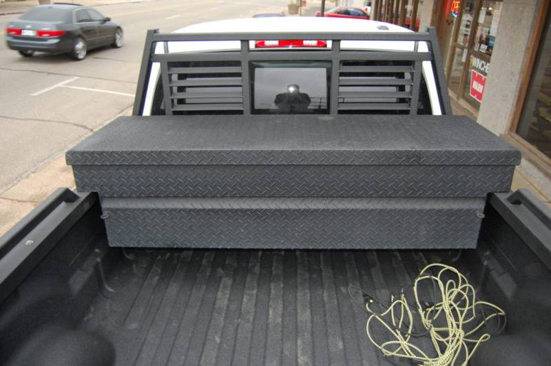 Tough Country Custom Louvered Headache Rack, Ford (1999-16 ...