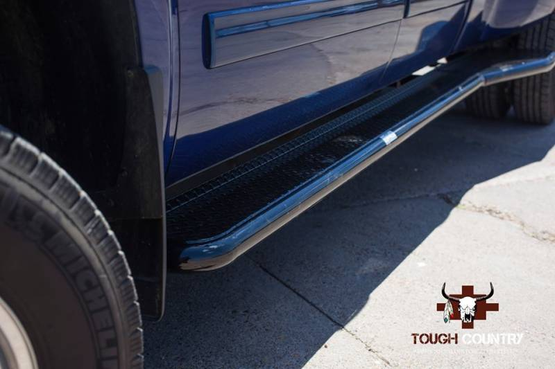 Silverado Running Boards >> Tough Country Deluxe Full Length Dually Running Boards ...