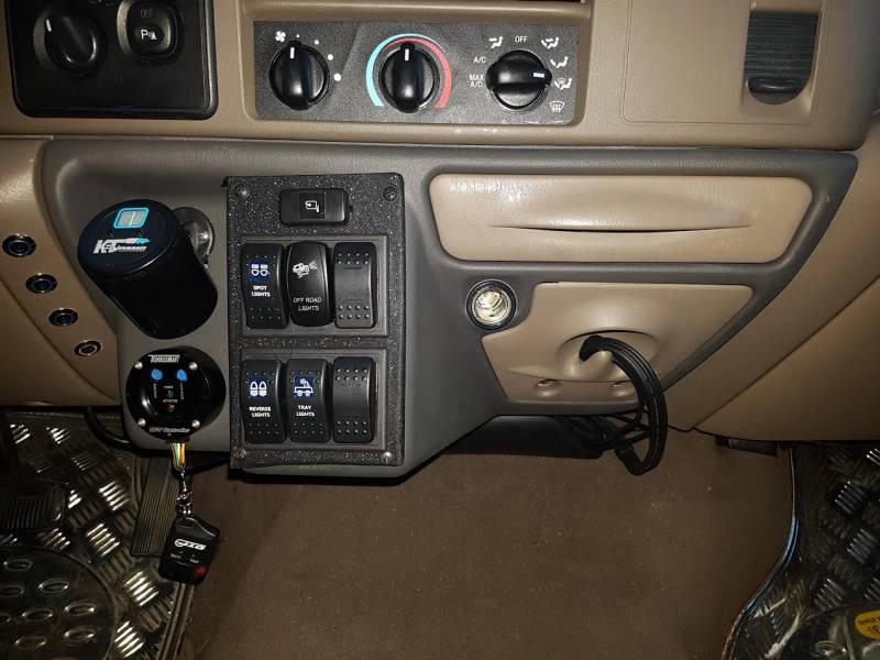 Ford F 650 Dash Kit Ford 1999 04 F 250 350 450 550 650 Super Duty Automatic Transmission