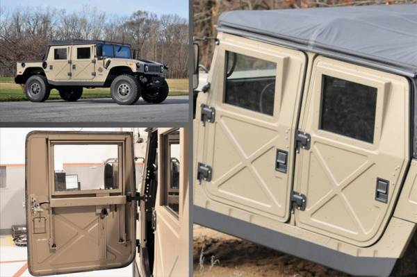 & Humvee Parts - Humvee Doors