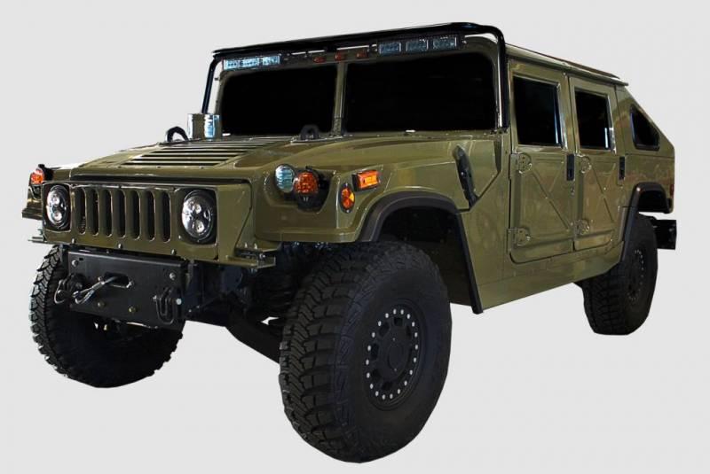 Ava Complete Humvee Hard Top With Roll Cage 4 Door Slant