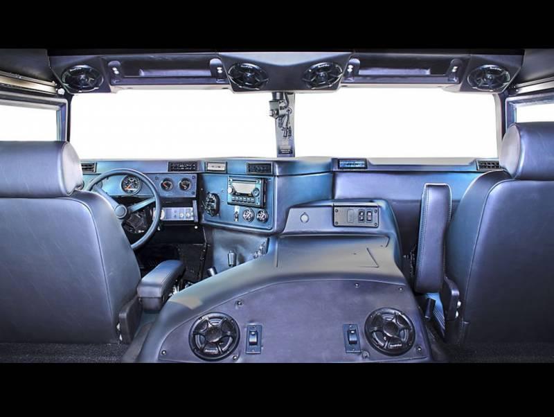 Ava Complete Humvee Interior Kit 4 Door Raw