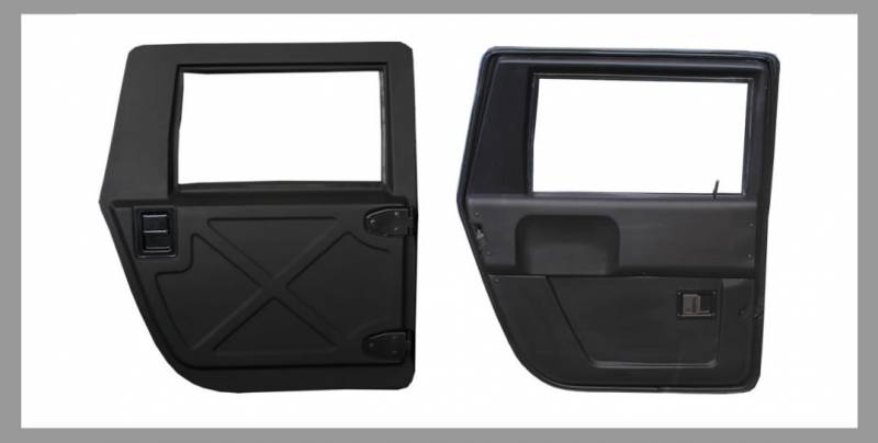 Advanced Vehicles Assembly - AVA Complete Humvee Premium Door Kit 4 Door & AVA Complete Humvee Premium Door Kit 4 Door