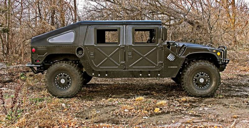 Ava Complete Humvee Premium Door Kit 4 Door
