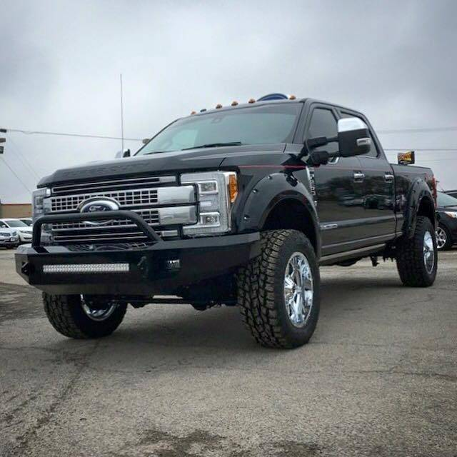 Tough Country Custom Evolution Front Bumper  No Top   Ford