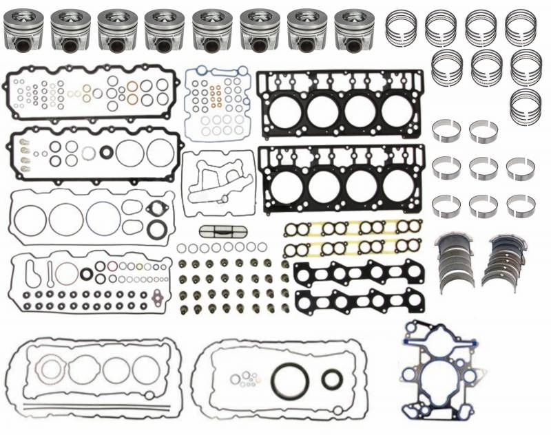 Mahle Clevite Overhaul Kit Ford 2003 04 6 0l