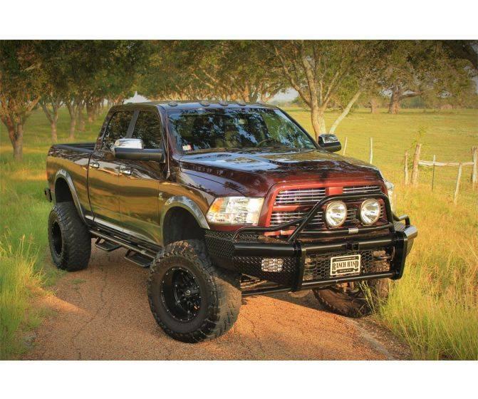 Ranch Hand Legend Bullnose Bumper, Dodge/RAM (2010-17
