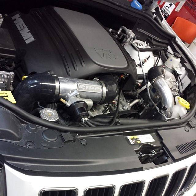 Jeep Supercharger Kits: RIPP Supercharger Kit, Jeep (2011-14) Grand Cherokee WK2 5