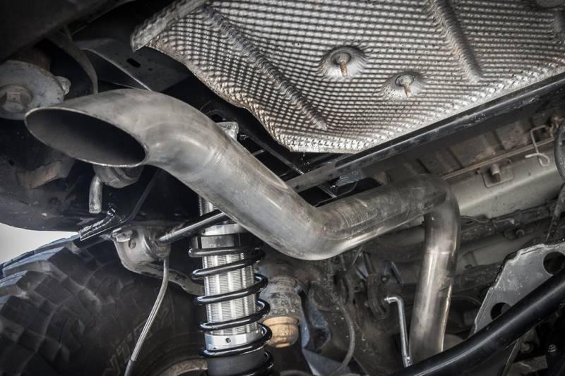Ripp Superchargers 2 5 Quot Cat Back Exhaust Kit Jeep 2007