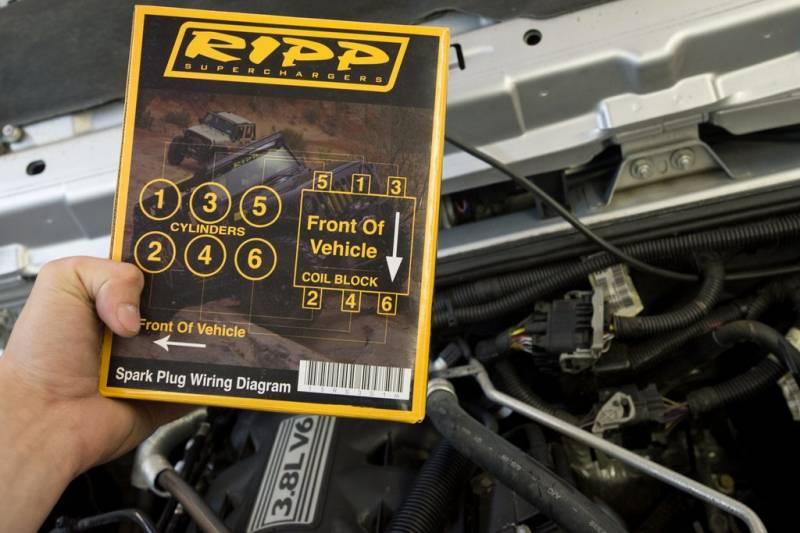 Best Jeep Wrangler >> RIPP Superchargers Spark Plug Wire Set, Jeep (2007-11) Wrangler 3.8L