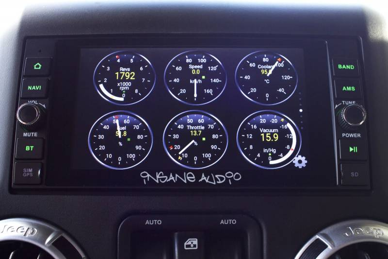 Fuel Jeep Wheels >> Insane Audio Head Unit for JK Wrangler