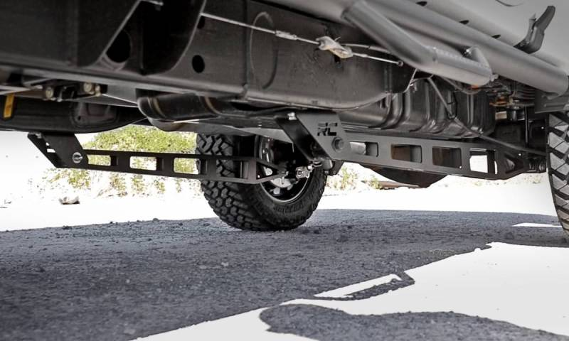 Rough Country Traction Bar Kit, Ford (2015-18) F-150, 4WD