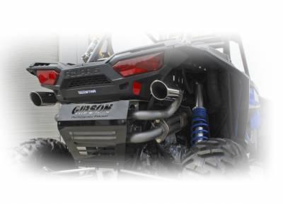Gibson UTV Exhaust, Polaris (2016-18) RZR XP Turbo, Dual Exhaust