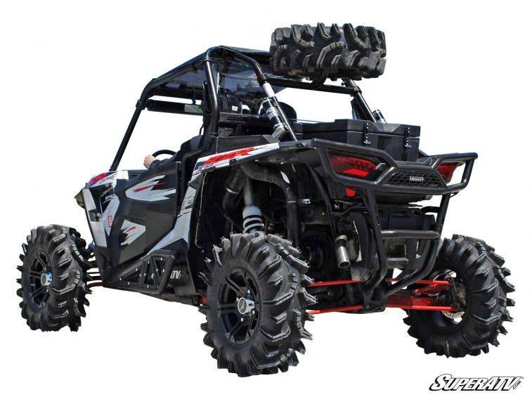 Polaris Rzr Xp Turbo Spare Tire Carrier Black