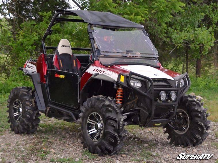 """4 800 SuperATV 2-3/"""" Lift Kit for Polaris RZR S 800 BLACK"""