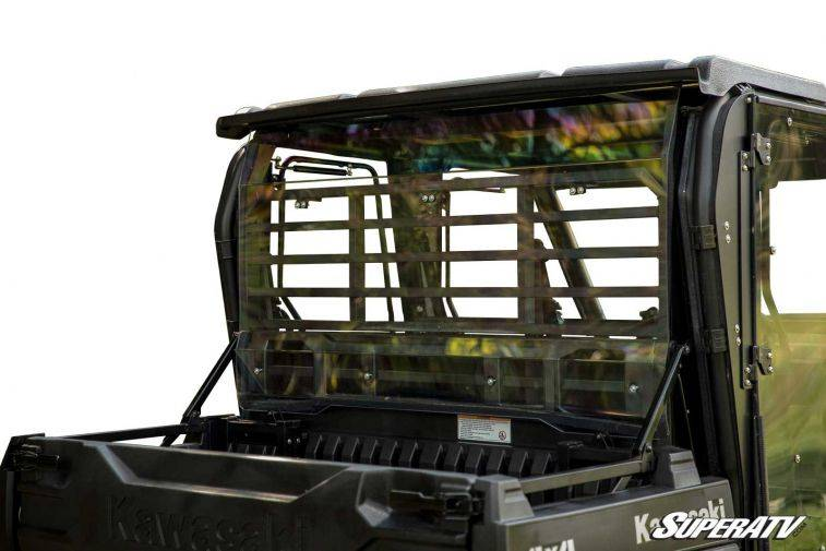 Kawasaki Mule Pro-FXT Rear Windshield