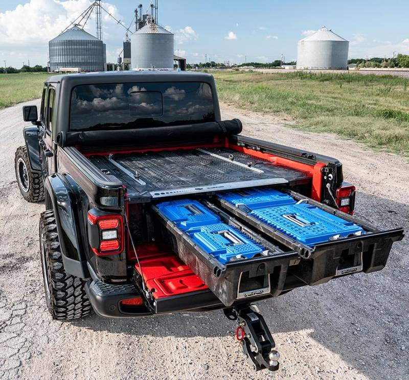 Decked Bed Storage Solution, Jeep (2020) Gladiator