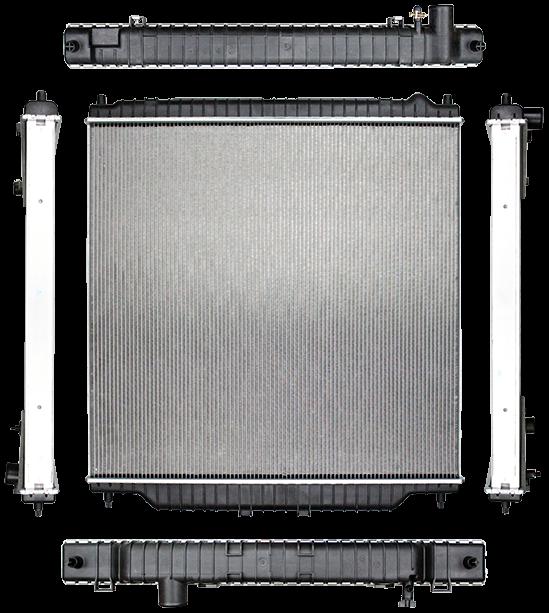 Aluminum Radiator For 2003-2007 FORD F250 F350 F-450 Super Duty 6.0L Powerstroke