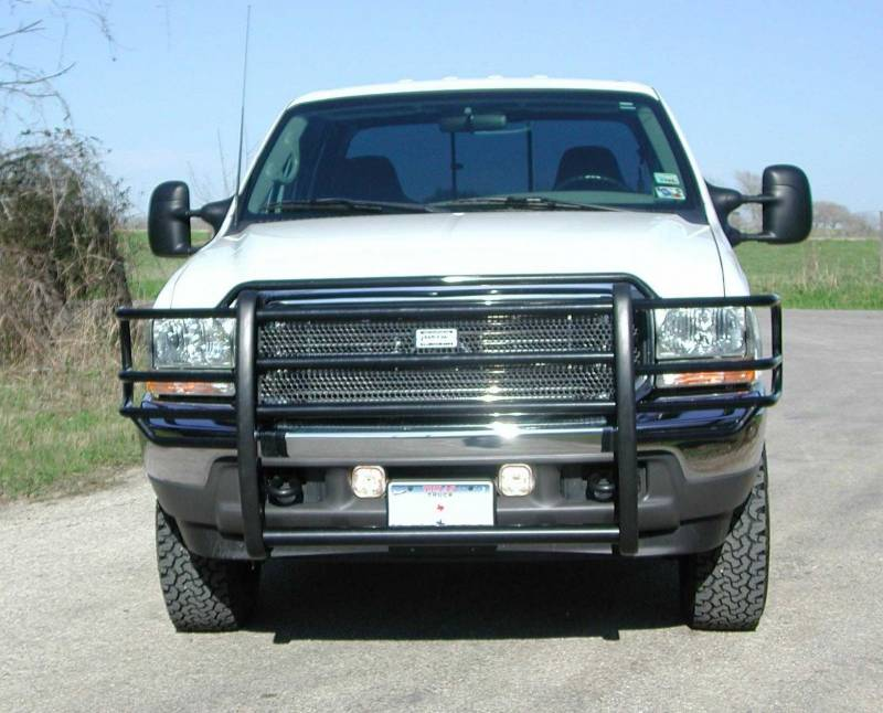 Ford F250 Grill Guard Ranch Hand Legend Grille Guard, Ford SD (1999-04) F250/F350/F450/F550 ...