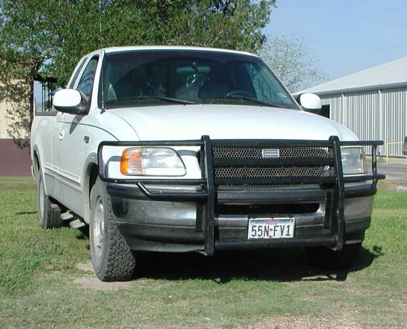 ranch hand legend grille guard ford 1997 98 f 150 f 250 92 F150 Rear Bumper ggf974bl1