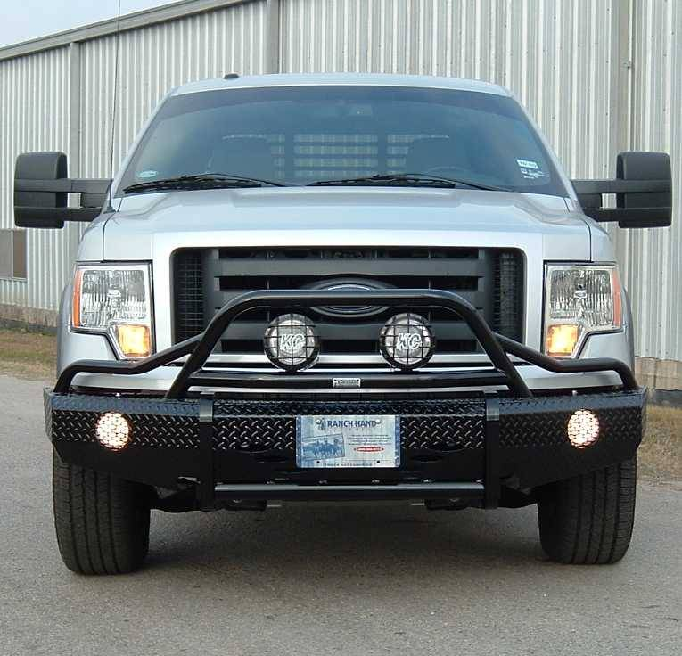 Replacement Jeep Parts Ranch Hand Summit Bullnose Bumper, Ford (2009-14) F-150