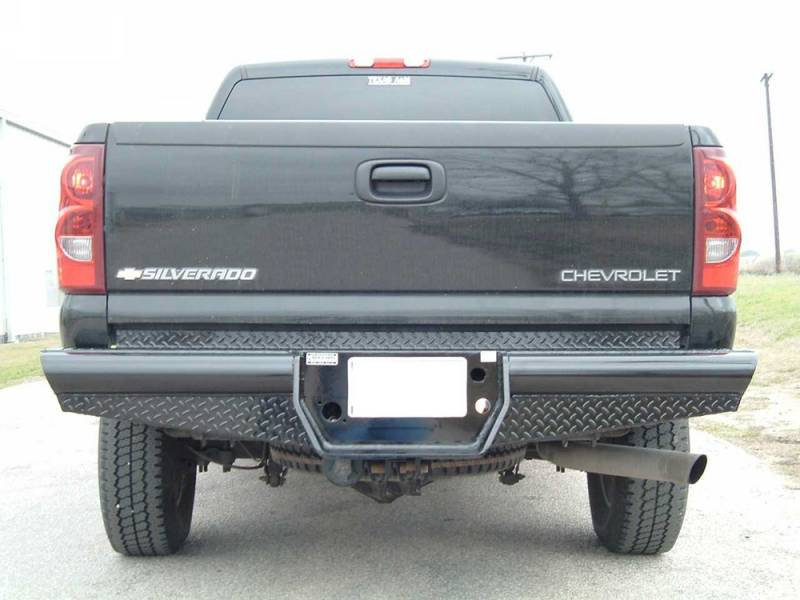 "F350 Towing Capacity >> Ranch Hand Legend Rear Bumper, Chevy/GMC (2001-07) 2500HD Classic, 10"" w/skirts/lights, 1/10, FR"