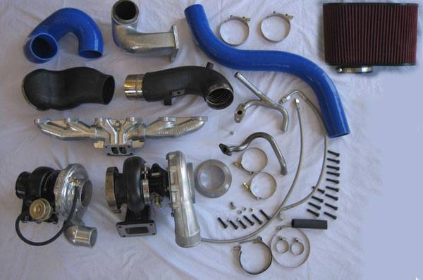 Turbos/Superchargers & Parts - Twin Turbo Kits