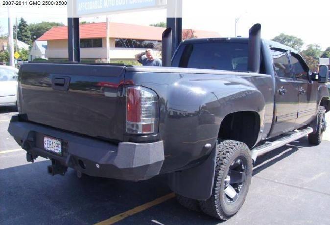 Iron Bull Bumpers : Iron bull rear bumper chevy