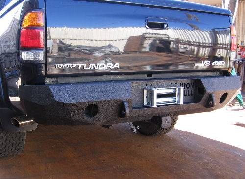 iron bull rear bumper toyota 2000 02 tundra. Black Bedroom Furniture Sets. Home Design Ideas