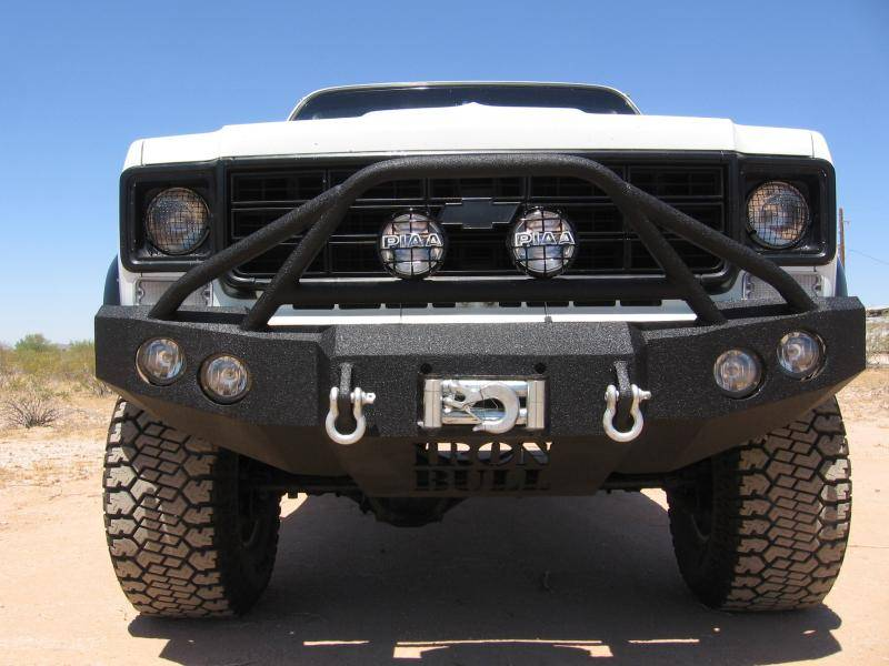 Iron Bull Front Bumper Chevy 1988 00 Truck Suv