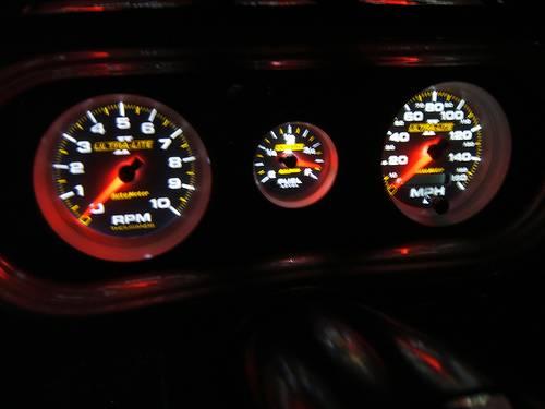 Auto Meter Ultra Lite Ii Series  Oil Pressure 0