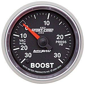 "2-1/16"" Gauges - Auto Meter Sport-Comp II Series"