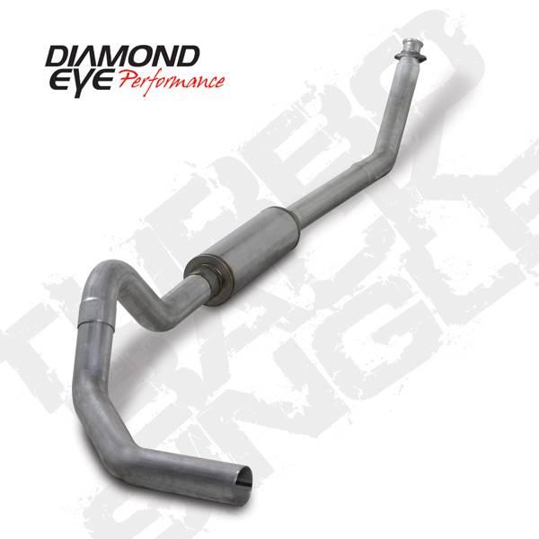 """Diamond Eye 4"""" Turbo Back Exhaust, Dodge (1994-02) 2500"""