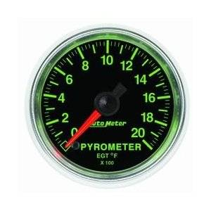 "2-1/16"" Gauges - Auto Meter GS Series"