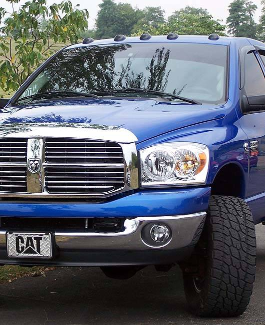 Recon Cab Roof Lights Dodge 2003 12 Ram Smoked