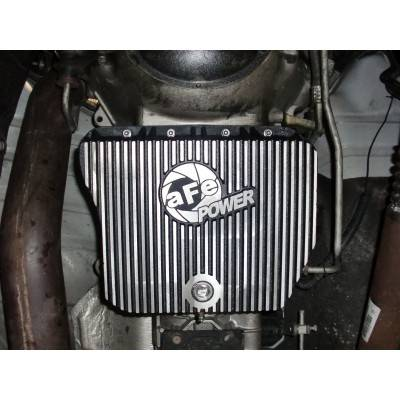 afe transmission pan dodge    automatic  dd machined fins