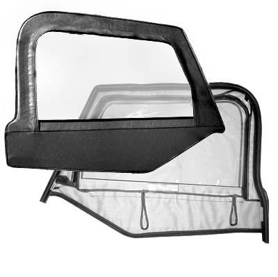 Bestop Fabric Replacement Upper Door Skins Jeep 1997 06