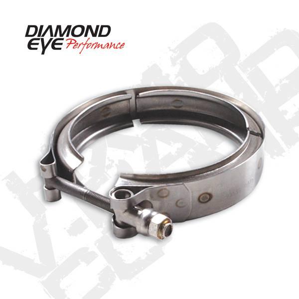 Diamond Eye Turbo V-Band Clamp, HX40 style exhaust ...