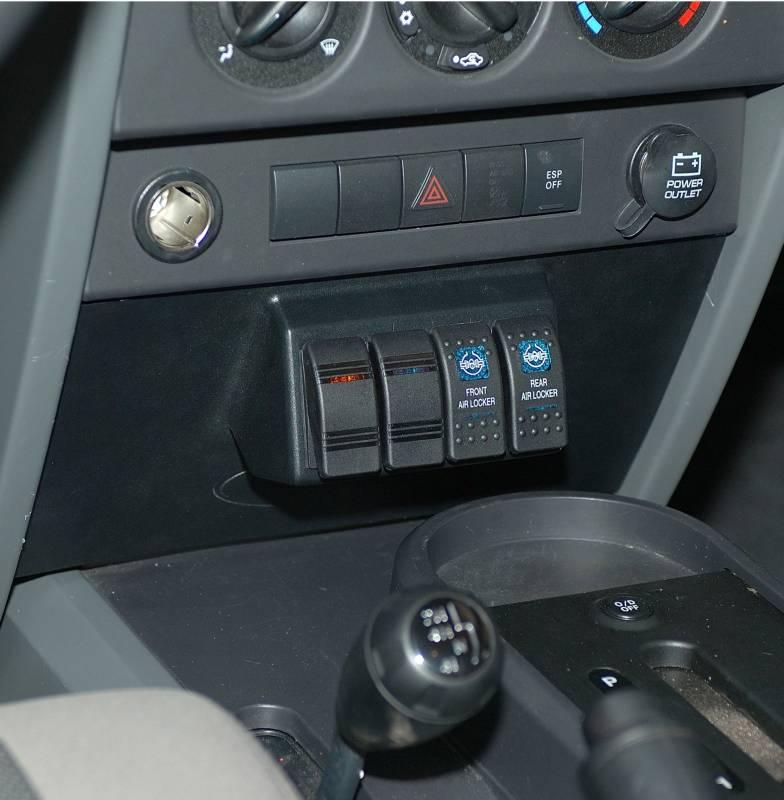 Daystar Jeep Wrangler Jk 2007 10 Switch Panel