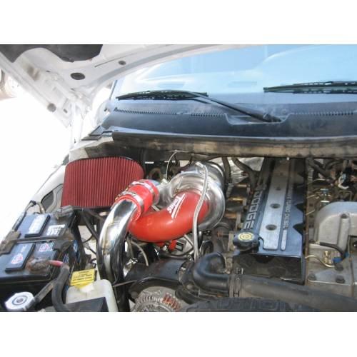 Pusher Cummins Compound Turbo: Diesel Power Source Twin Turbo Kit, Dodge (2003-09) 5.9L