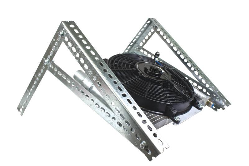 bd power xtrude trans oil cooler chevygmc  tubing allison  transmission